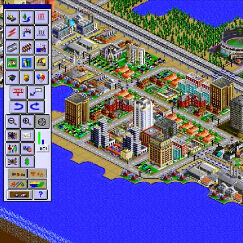 Video Games answer: SIMCITY