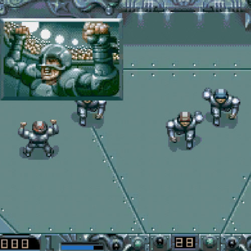 Video Games answer: SPEEDBALL 2