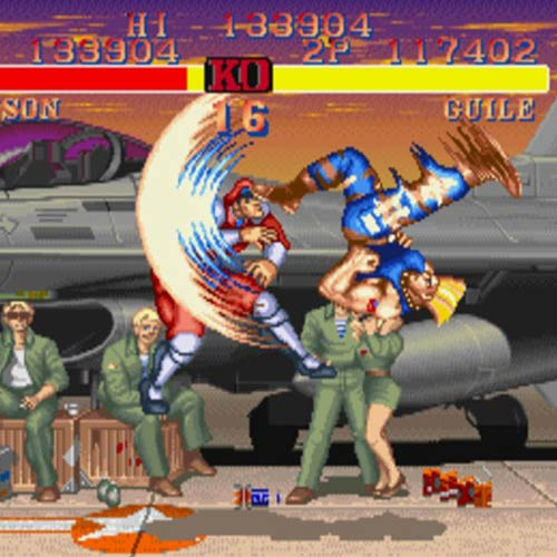 Video Games answer: STREET FIGHTER 2