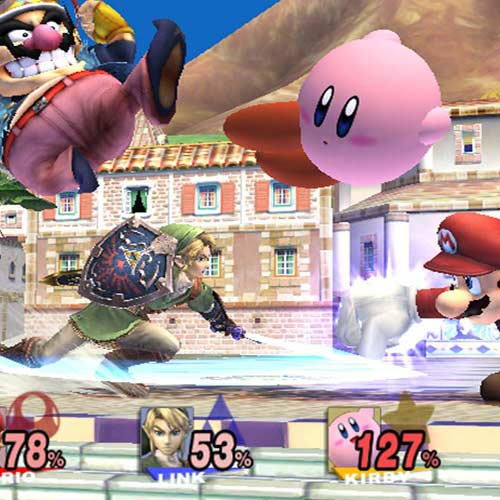 Video Games answer: SUPER SMASH BROS