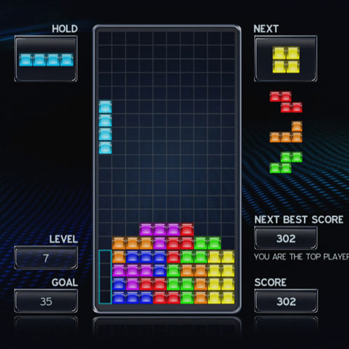Video Games answer: TETRIS