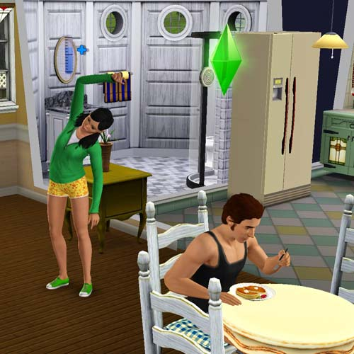 Video Games answer: THE SIMS