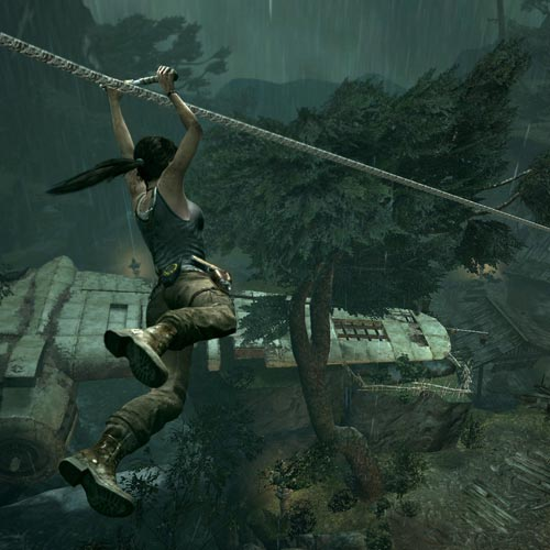 Video Games answer: TOMB RAIDER