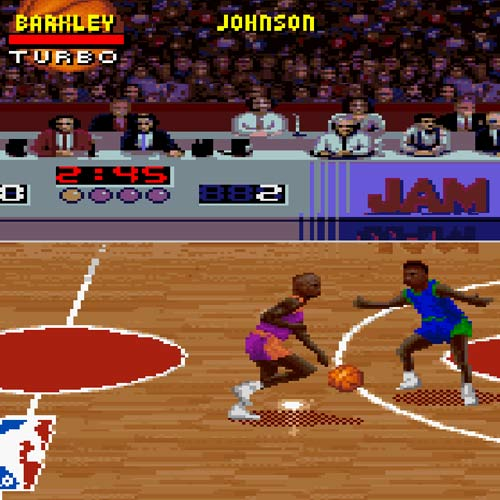 Video Games answer: NBA JAM