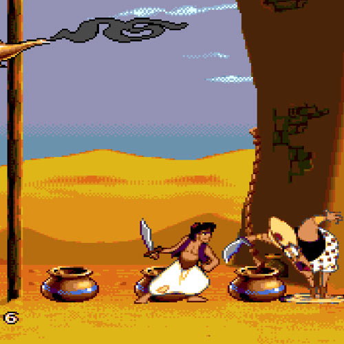 Video Games 2 answer: ALADDIN