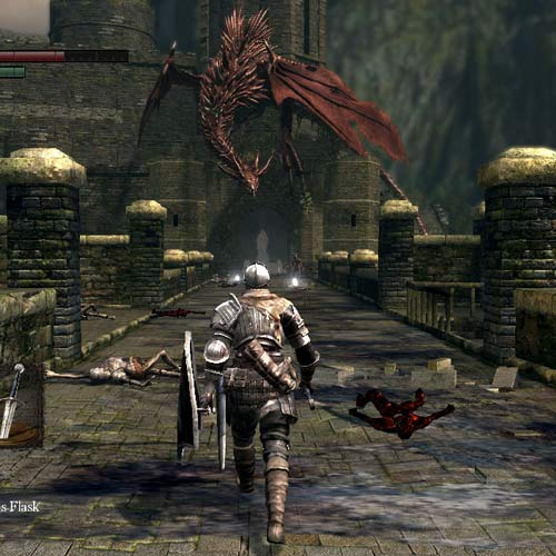 Video Games 2 answer: DARK SOULS