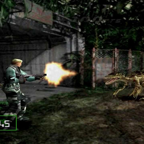 Video Games 2 answer: DINO CRISIS