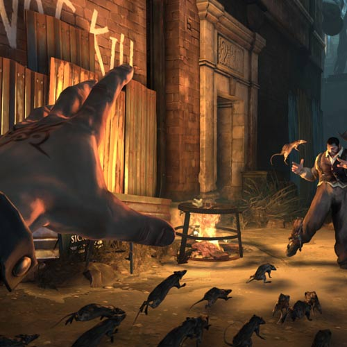 Video Games 2 answer: DISHONORED