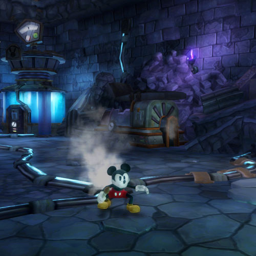 Video Games 2 answer: EPIC MICKEY