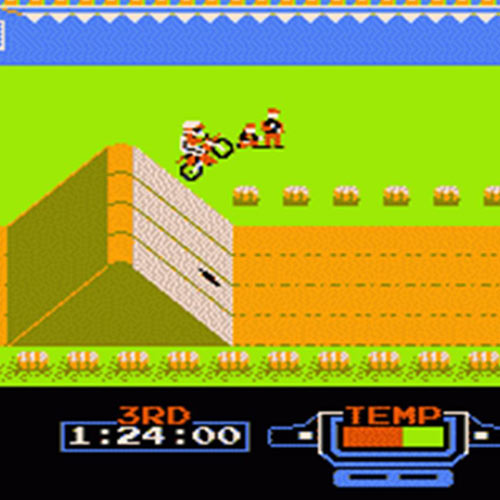 Video Games 2 answer: EXCITEBIKE