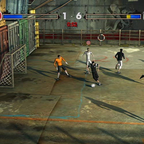 Video Games 2 answer: FIFA STREET