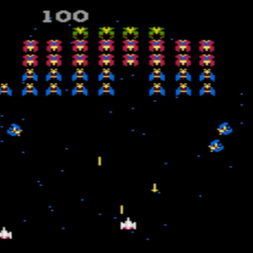 Video Games 2 answer: GALAGA