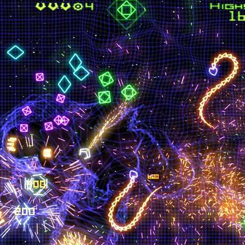Video Games 2 answer: GEOMETRY WARS