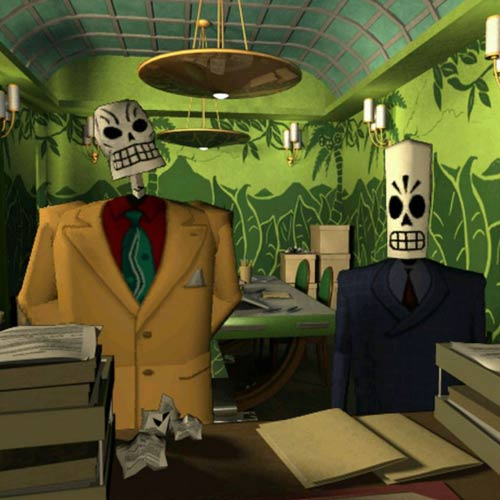 Video Games 2 answer: GRIM FANDANGO