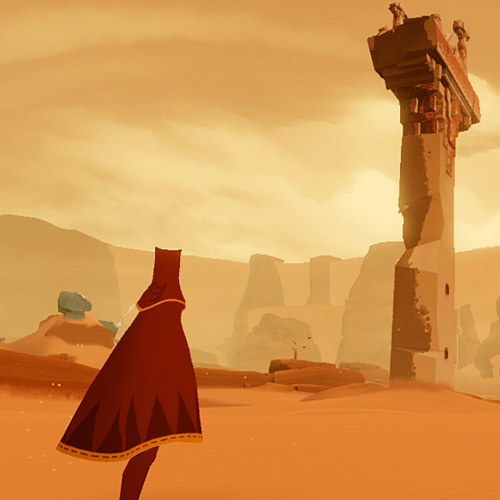 Video Games 2 answer: JOURNEY