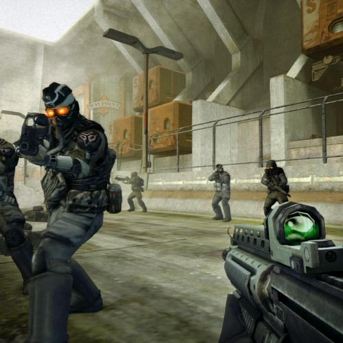 Video Games 2 answer: KILLZONE
