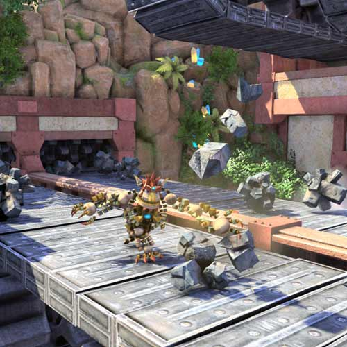 Video Games 2 answer: KNACK