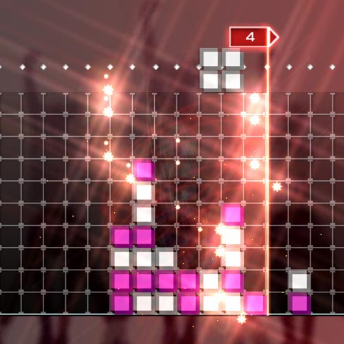 Video Games 2 answer: LUMINES