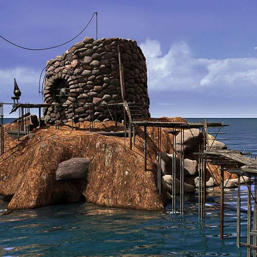 Video Games 2 answer: MYST 3 EXILE