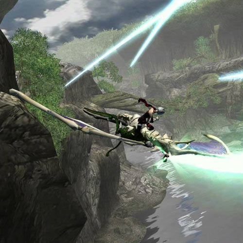 Video Games 2 answer: PANZER DRAGOON