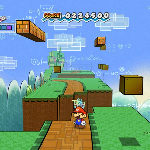 Video Games 2 answer: PAPER MARIO