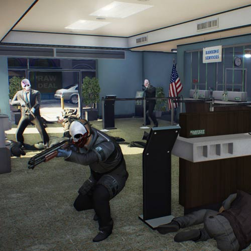 Video Games 2 answer: PAYDAY 2