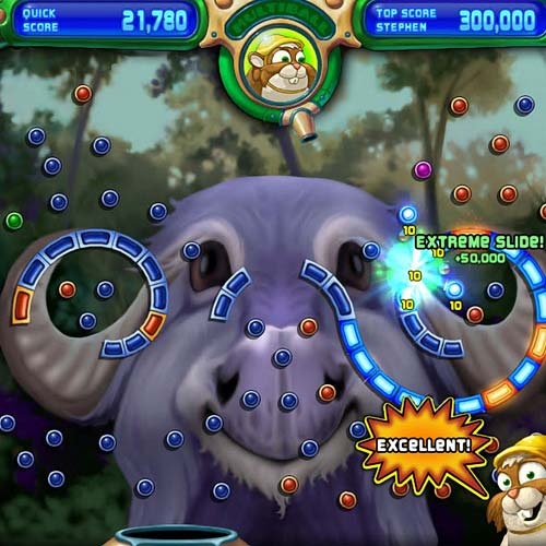 Video Games 2 answer: PEGGLE