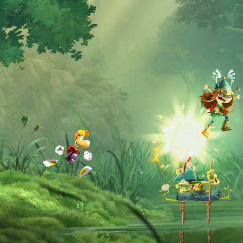 Video Games 2 answer: RAYMAN LEGENDS