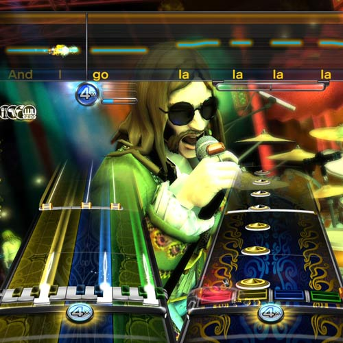 Video Games 2 answer: ROCKBAND 3