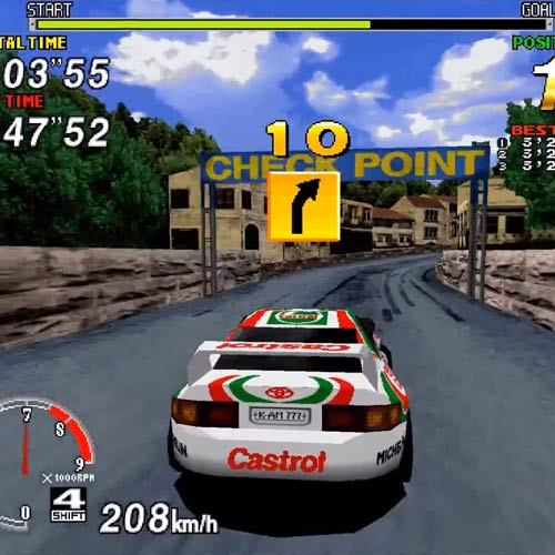 Video Games 2 answer: SEGA RALLY