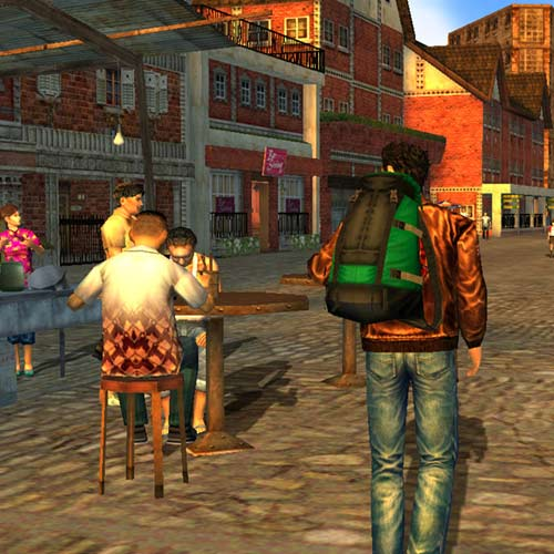 Video Games 2 answer: SHENMUE 2