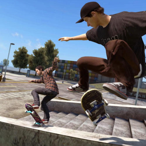 Video Games 2 answer: SKATE 3