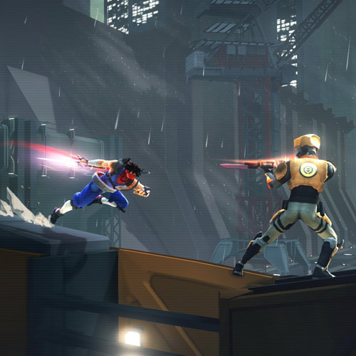 Video Games 2 answer: STRIDER