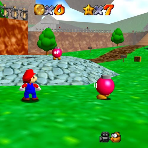 Video Games 2 answer: SUPER MARIO 64