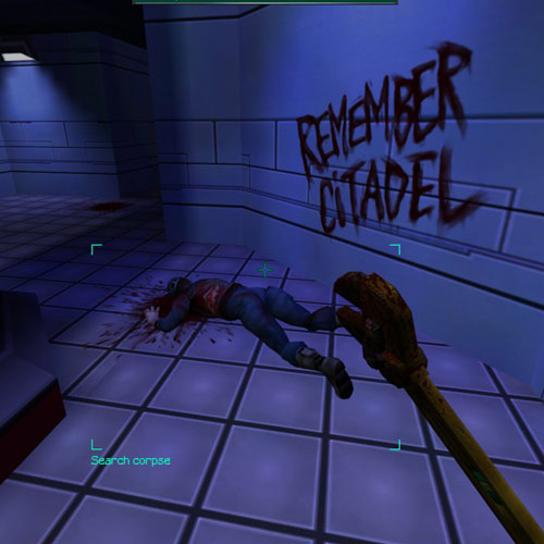 Video Games 2 answer: SYSTEM SHOCK 2
