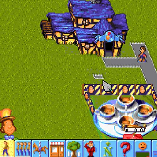 Video Games 2 answer: THEME PARK