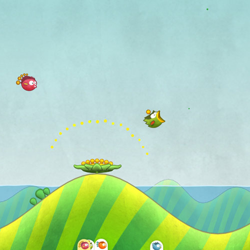 Video Games 2 answer: TINY WINGS