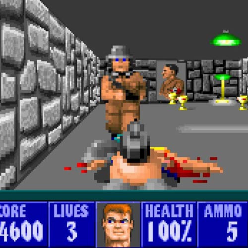 Video Games 2 answer: WOLFENSTEIN