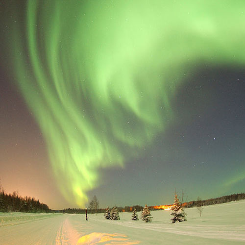 Weather answer: AURORA BOREALIS