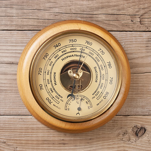 Weather answer: BAROMETER