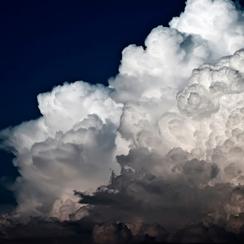 Weather answer: CUMULUS
