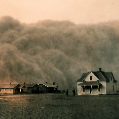 Weather answer: DUST STORM