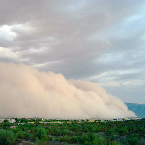 Weather answer: HABOOB