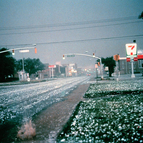 Weather answer: HAILSTORM