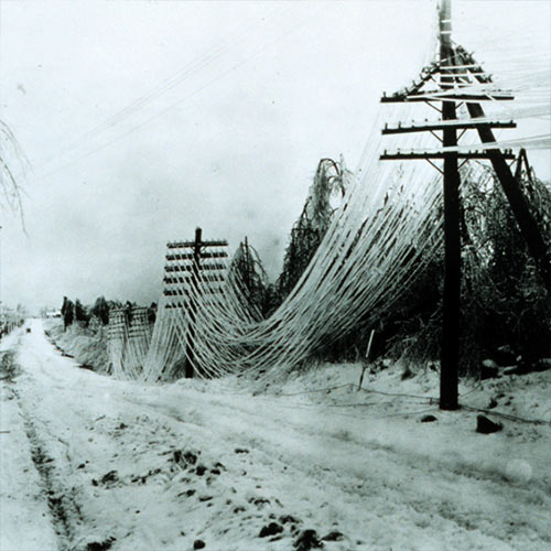 Weather answer: ICE STORM