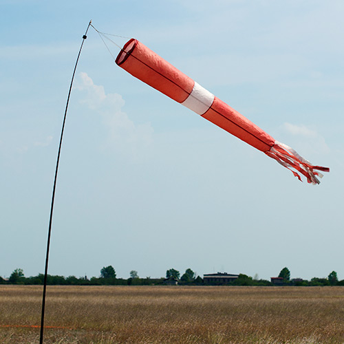 Weather answer: WIND SOCK