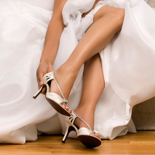 Weddings answer: SHOES