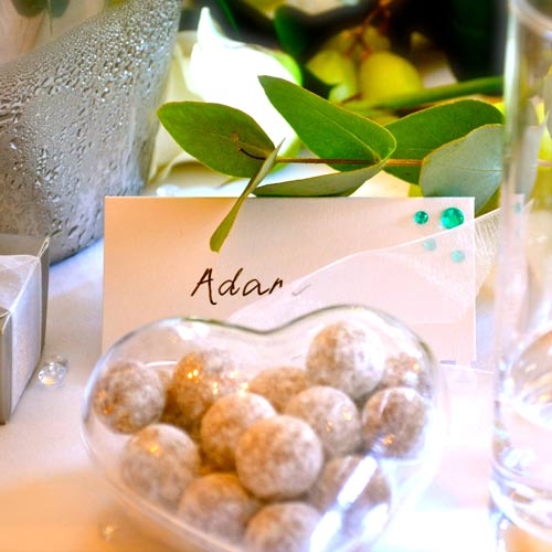 Weddings answer: NAME CARD