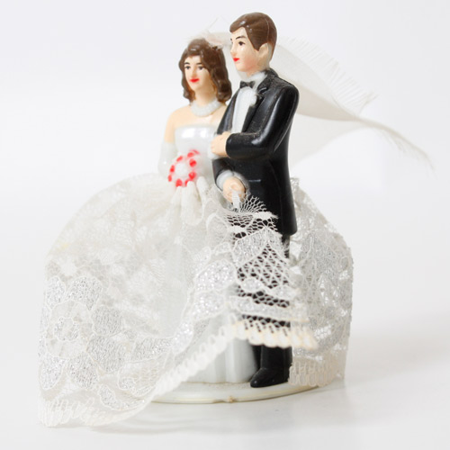 Weddings answer: CAKE TOPPER