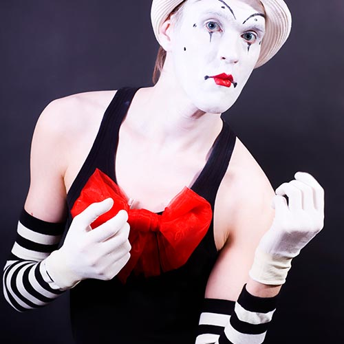 What Job? answer: MIME ARTIST